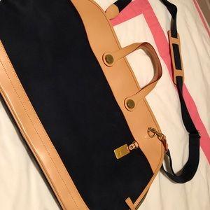 Dooney & Bourke Navy Weekender Bag